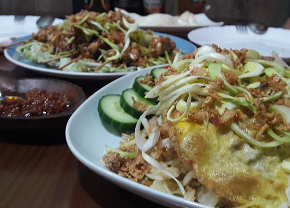 Essen im Casa Ari