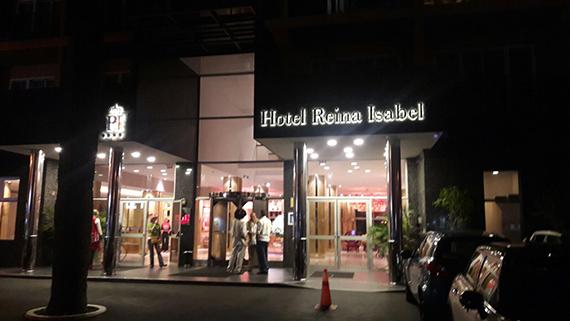 Eingang Hotel Reina Isabell Las Palmas