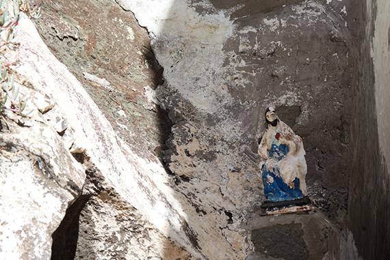 Jesus-Statuette in Puerto de Mogan