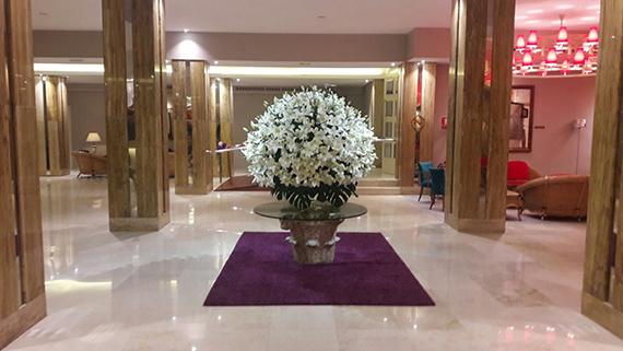 Eingang Lobby Hotel Reina Isabel Las Palmas