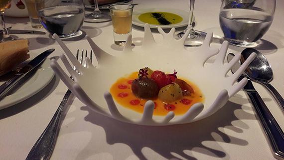 Tomatensalat Vorspeise im Summum Las Palmas
