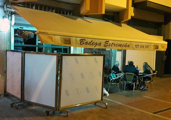 Bodega Extremeña von außen