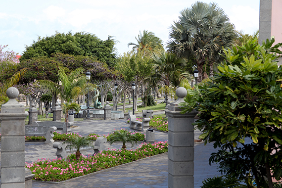 Skulpturenpark im Park Arnao