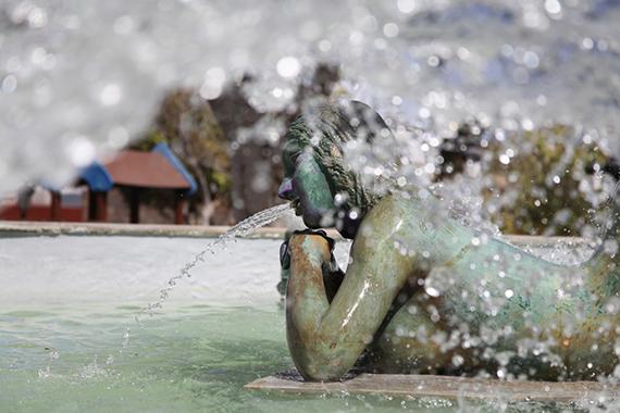 Brunnen in Telde