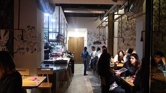 Restaurant La Barra de Traddiction in Las Palmas innen