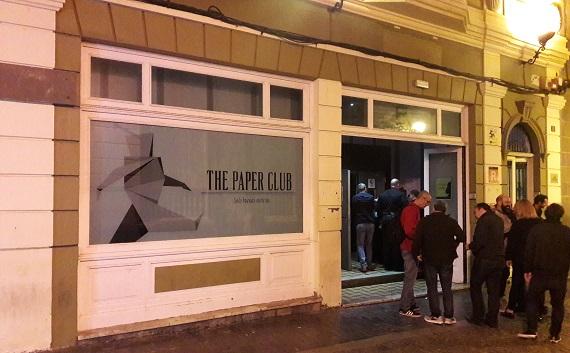 Ausgehen in Las Palmas. Paperclub mitten in Triana und Vegueta.