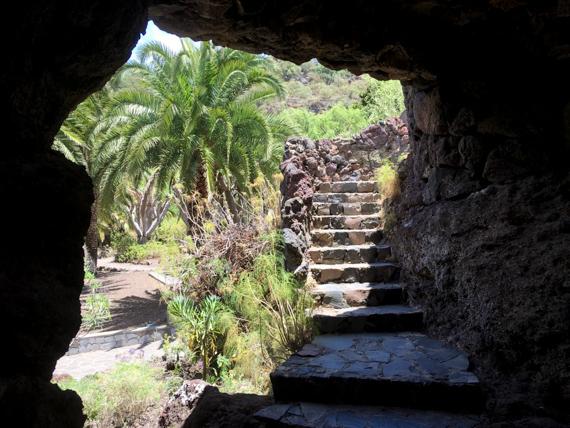 Höhle im Botanischen Garten Las Palmas