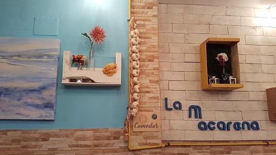 Restaurant La Macarena in Las Palmas, Gran Canaria, Inneneinrichtung