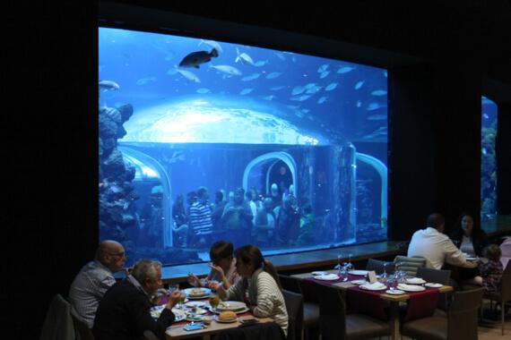 Restaurant im Poema del Mar Las Palmas